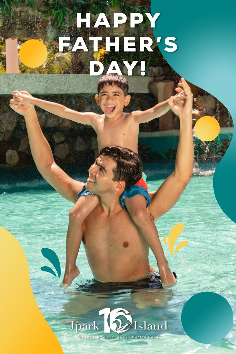 It's your Super Dad's day today! Celebrate all his hard work this Father's Day at the most fun place to be!  #MyJparkStory #WaterYouWaitingFor  #TenYearsOfJpark https://t.co/X69pH1o7b3