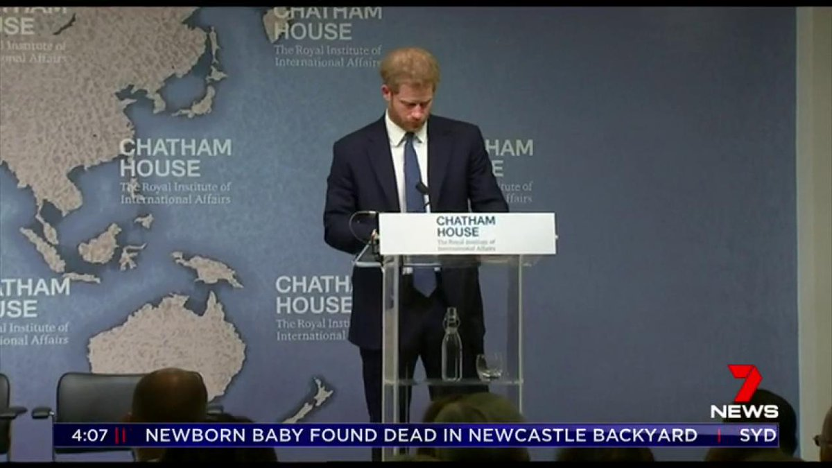 Prince Harry has vowed to continue his mother's work helping to clear landmines in the African nation of Angola. The announcement comes 22 years after Princess Diana famously walked through a minefield to highlight how dangerous they are around the world. @laurelirving7 #7NEWS