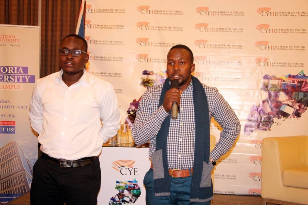 It was a great honor to talk at Chamber Of Young Entrepreneurs' @CYEuganda Business Forum, about Sustainable Entrepreneurship In the 21st Century and also get an opportunity to meet very enthusiastic entrepreneurs. <br>http://pic.twitter.com/P27NiPhmRM
