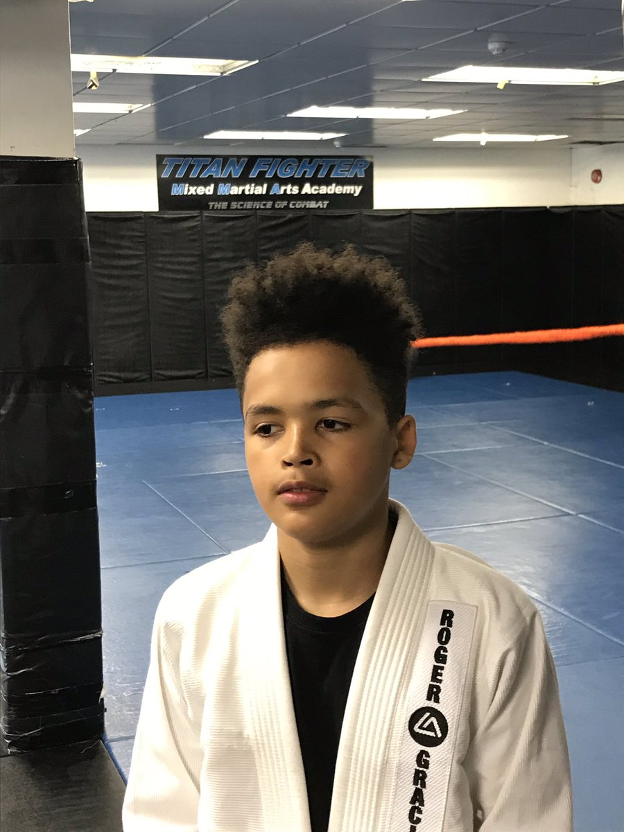 Kye🧑🏽training at the UFC and MMA Gym Titan Fighters....in Edmonton Future Champ 🏆 loving his BJJ and Boxing... A true Angel 😇 with a Fighting Streak. #ufc #ufc238 #mma #mmafighter #charity #boxing #bjj #gracie #ibjjf #bjjlondon #rogergracieacademy #titans #titanfighter