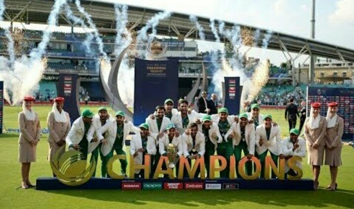"""On this day 2 years ago...  """"Lose not heart,  nor be sad,  for you'll be superior  If you are true in faith.""""  -Al Quran   Champions SubhanAllah   #CT17   #WestandwithTeampakistan<br>http://pic.twitter.com/wBKs1zU6Hl"""