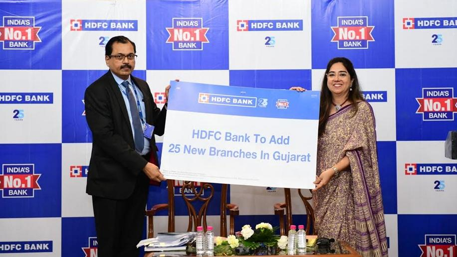 HDFC Bank to add 25 new branches in Gujarat