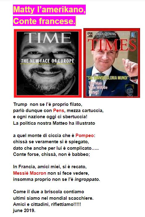 Conte e Salvini in trasferta