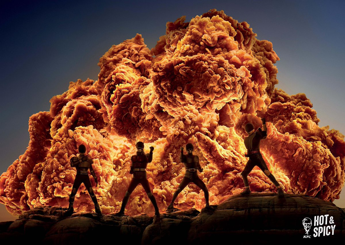 Past #CannesLions Gold  Title: Hot & Spicy Client: KFC Team: Hong Kong   #OgilvyCannes #CannesLions2019 #TBT