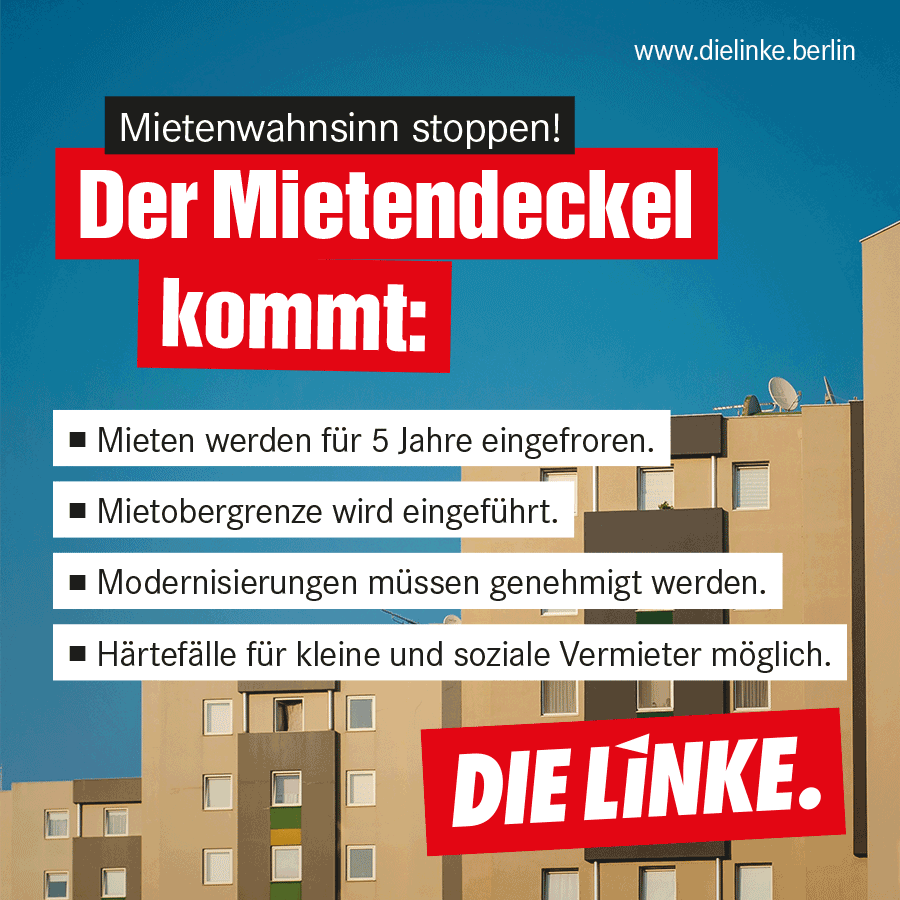 mietendeckel in berlin