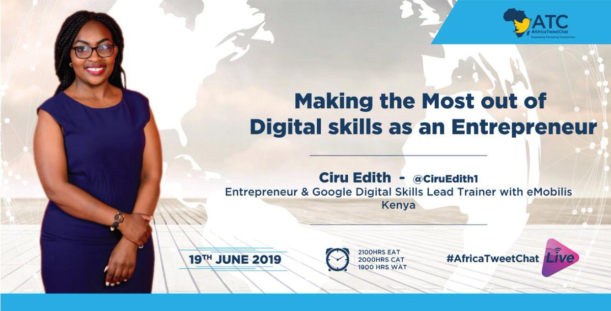 Join me tomorrow as I host #AfricaTweetChat  chat on making the most of Digital Skills as an Entrepreneur. Let's engage, give our views and contributions tomorrow. #GoogleDigitalSkills  @DigitalSkillsAF<br>http://pic.twitter.com/i1zse4T4Zt