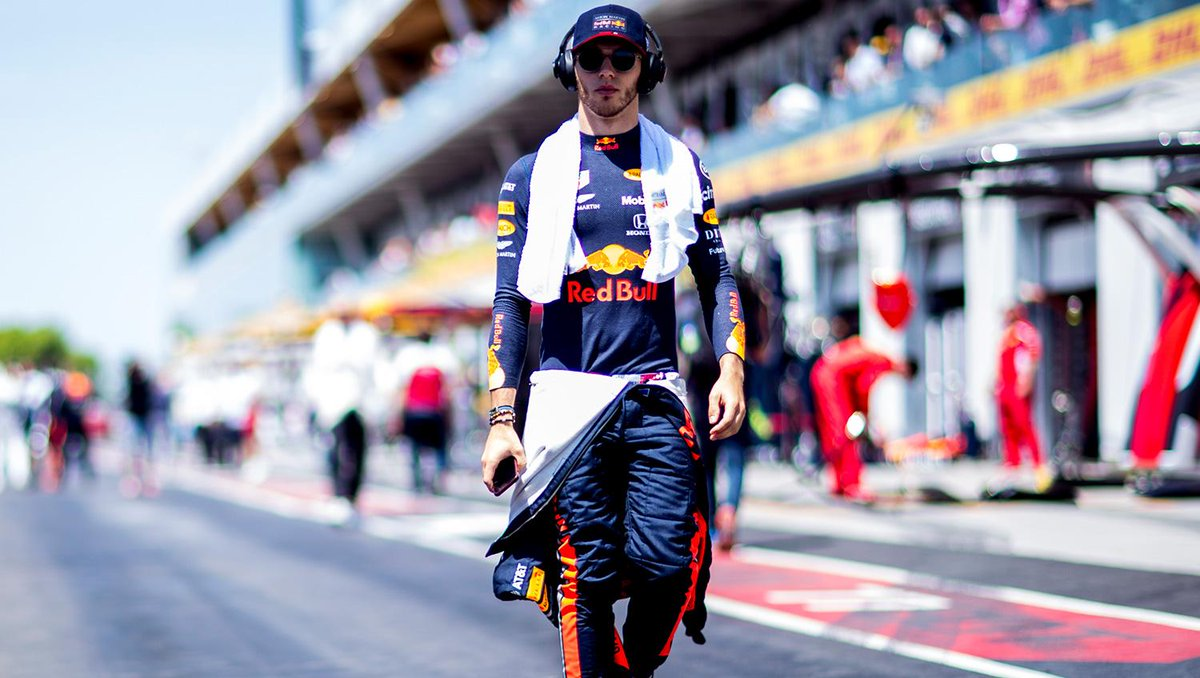 """🗣 """"It's a really special weekend coming for me, my home race, so I'm really excited to be on track there with all the fans and extra support."""" 🤘 @pierregasly ahead of the #FrenchGP 🇫🇷👉 https://win.gs/FRAGPPrev #F1"""