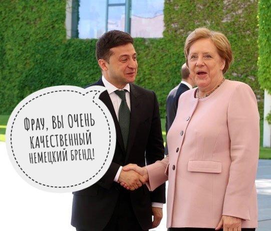 Зеленський прибув до резиденції Меркель - Цензор.НЕТ 9015