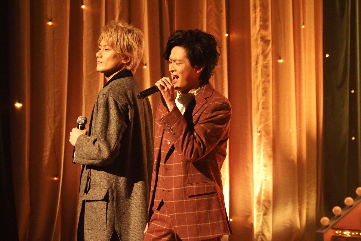 第27話では初登場 新納慎也 さんと 小西遼生 さんがミュージカル『生きる』より「人生の主人になれ」