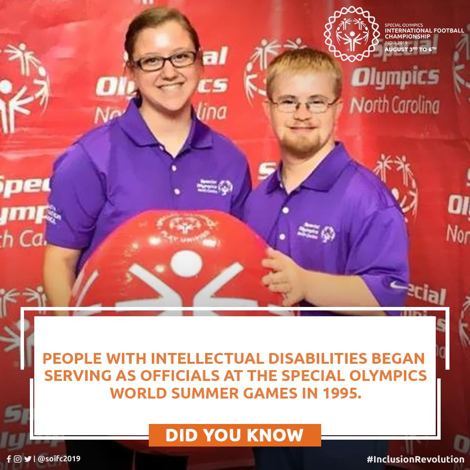 @SpecialOlympics apart from gifting our athletes a platform, has also opened the door of opportunities for people with Intellectual Disabilities all around the world through different mediums.  What could be a better example of Inclusion?  #SOIFC2019 #ChooseToInclude