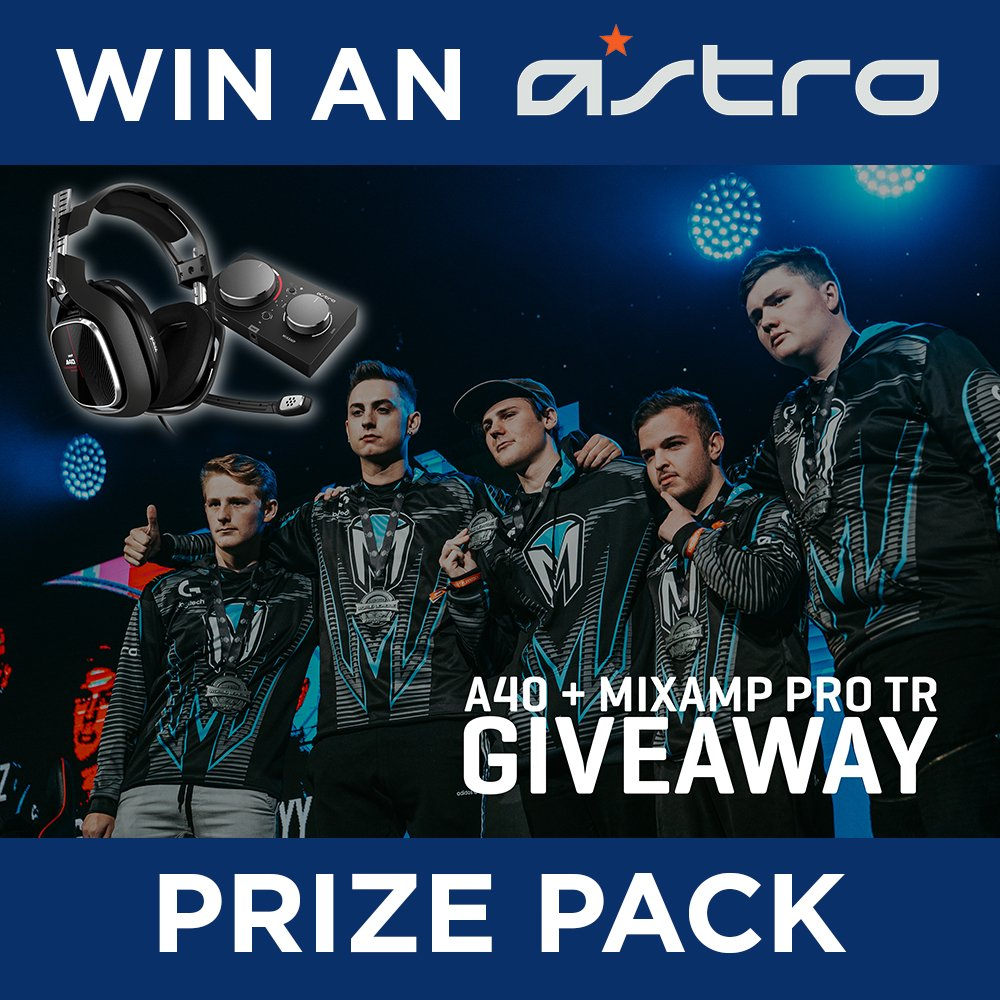 To celebrate Team @Mindfreak's win at the @CallofDuty Open Bracket Championships, @Logitech have given us an A40 headset and Mixamp Pro TR to giveaway!  Like and RT for your chance to win!