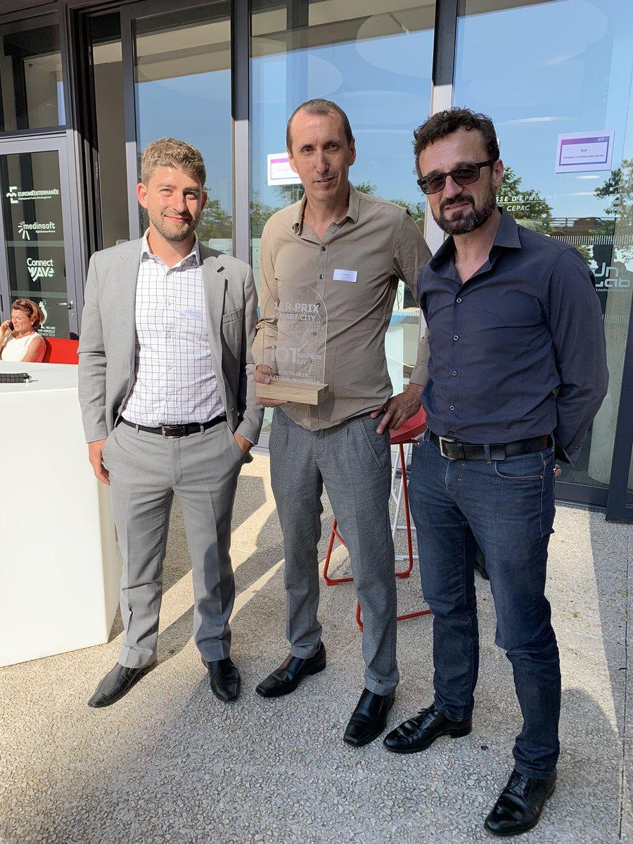 Image for the Tweet beginning: [Salon de l'IOT Business Day