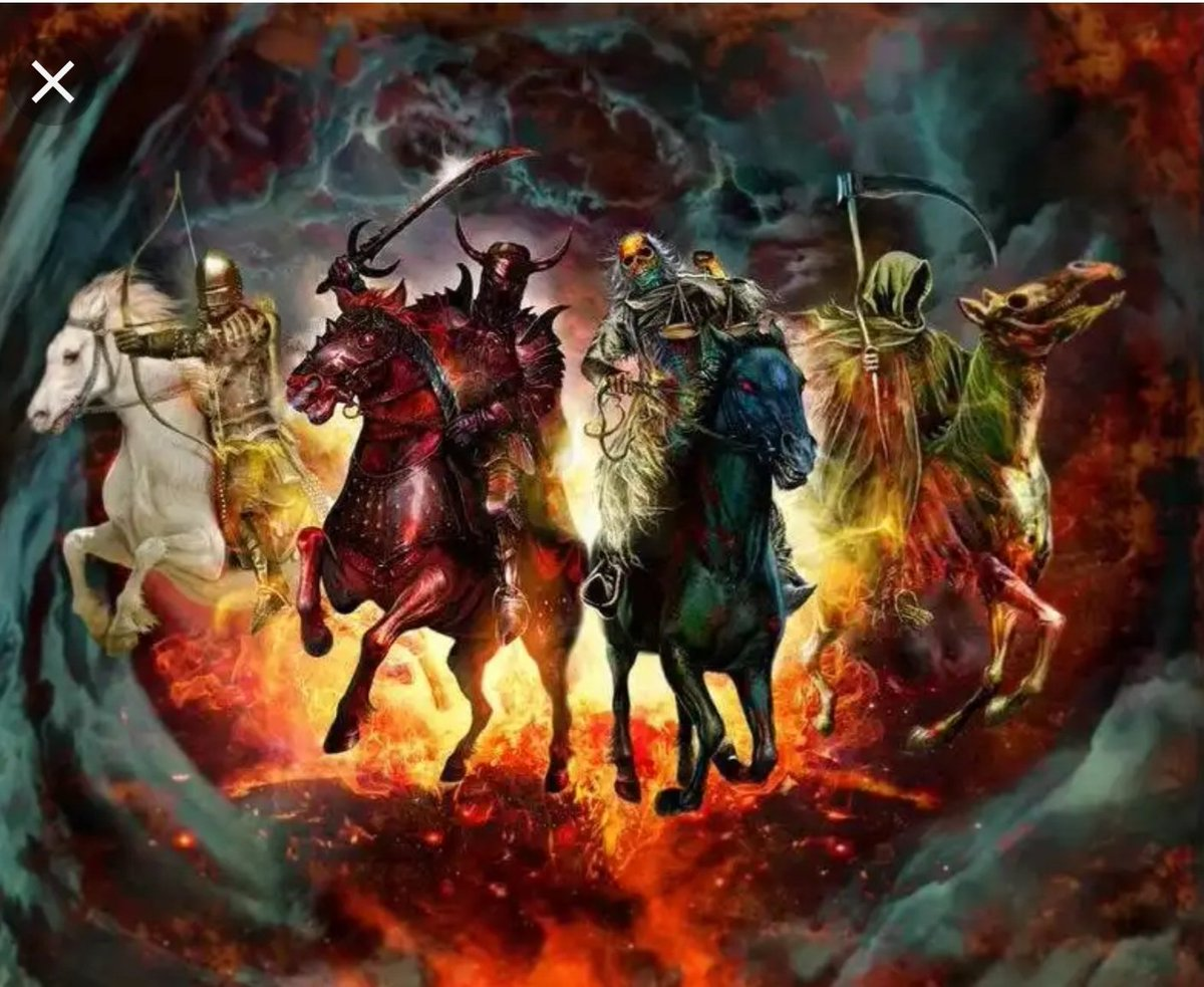 Nationalism, Racism, Religion and Bigotry. The real Four Horseman of the Apocalypse! <br>http://pic.twitter.com/HOAgMZuL0Q