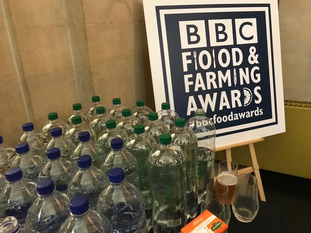 The @BBC could do a lot more to reduce #plastics. A policy to follow the Food and Farming awards and remove #plastic water bottles from ALL BBC events would be one priority. Removing the plastic tat from @CBeebiesHQ magazine another. #WarOnPlastic #PlasticPollution<br>http://pic.twitter.com/FFNvPjNVvJ