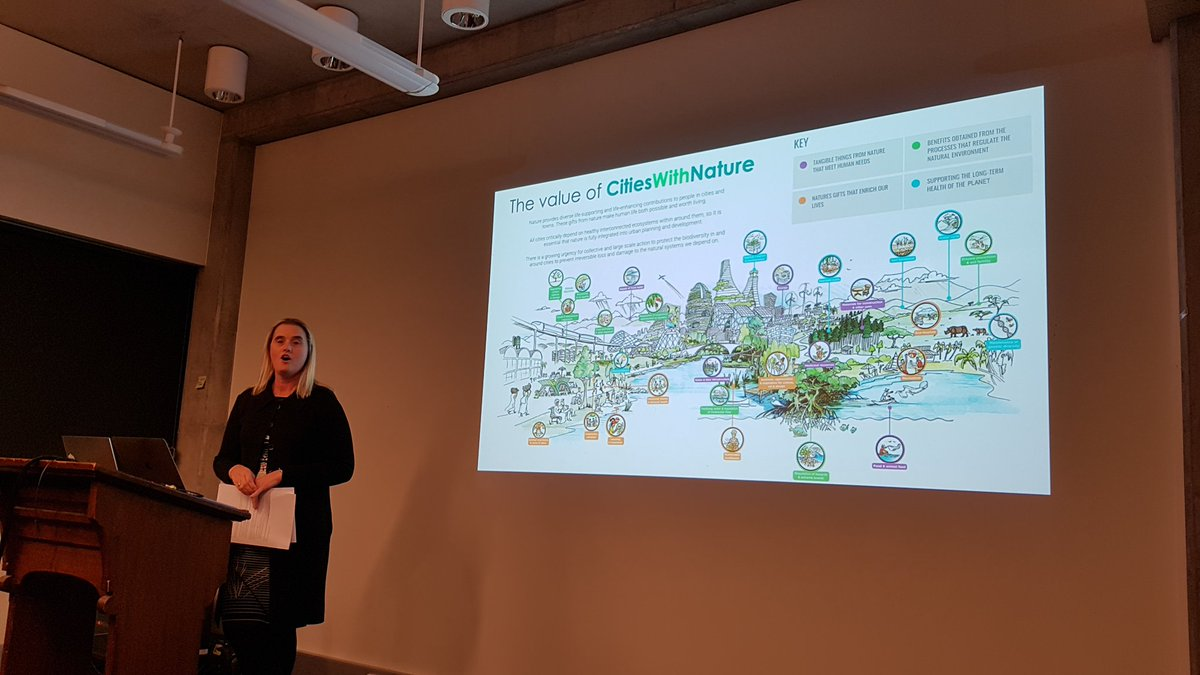 RT @MelbourneSCB Great talk by @cathyoke highlighting the importance of cities to solve some of our big challenges including #conservation, climate change & #SustainableDevelopment  goals through nature-based solutions. Now let's take the opportunity to network at the Clyde! #launch