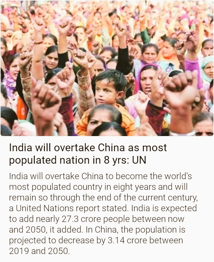 I do support #PopulationControlLaw and happy to see people are concerned about it. There is no one, not any Religion greater than a Country, People have to follow the Law, irrespective of the RELIGION. It is the Need of the Hour. Otherwise we will definitely face resource crises. <br>http://pic.twitter.com/GnyOrXUaI1