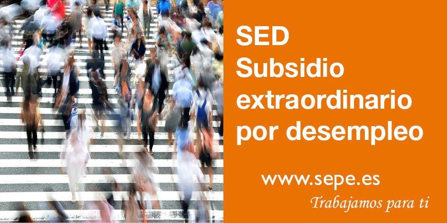 ¿Cómo, cuándo y dónde se tramita el Subsidio extraordinario por desempleo? Te informamos en nuestra sección de #noticias #SEPE http://ow.ly/YRdF50uGOdC