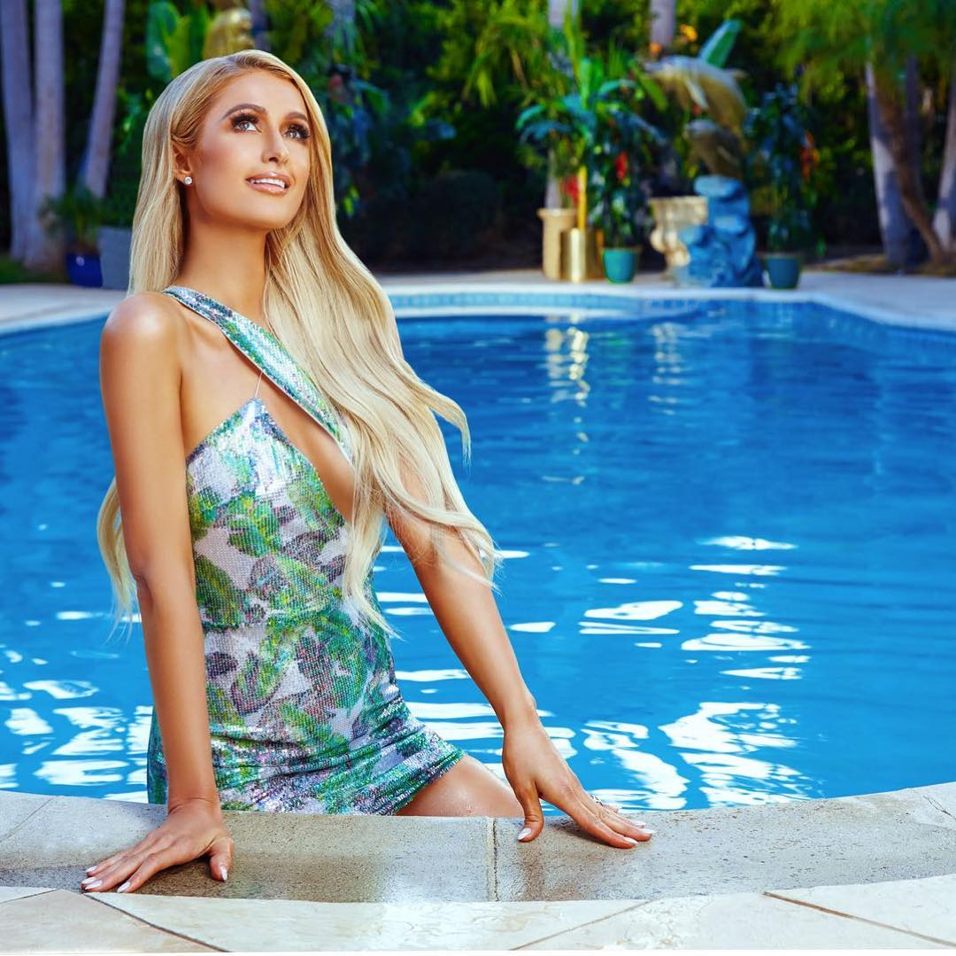 My Queen and Bae, the always gorgeous and incredible @ParisHilton love you babes - that's hot 😍😍❤❤❤
