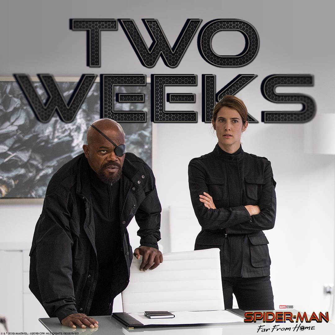 The countdown is on 🕷🕸 #SpiderManFarFromHome At Cinemas July 2