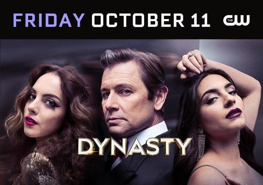 La saison 3 de #Dynasty débute le 11 octobre prochain 🎉