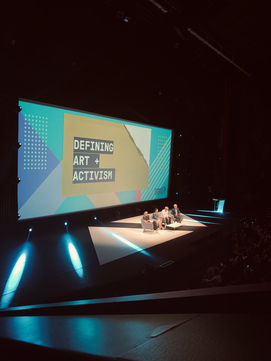 """Next up @Cannes_Lions :   """"Defining Art + Activism"""" w/.  @alfonsocuaron   Talking 'The Roma Effect'. The Oscar winning movie that accelerated a transformational change, giving a voice to vulnerable, marginalised women. Capturing hearts, changing policies. #Roma #CannesLions"""