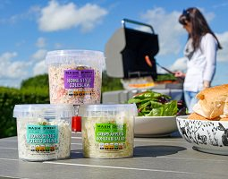 Tantalise your Taste buds this summer with fresh convenient salads from @mashdirect 'Home Style Salad' range including Home Style Potato Salad, Crispy Apple & Kohlrabi Salad & Home Style Coleslaw - perfect accompaniments for your #BBQ http://www.buynifood.com/news-events/2586/mash-direct-launches-summer-salad … #NorthernIreland