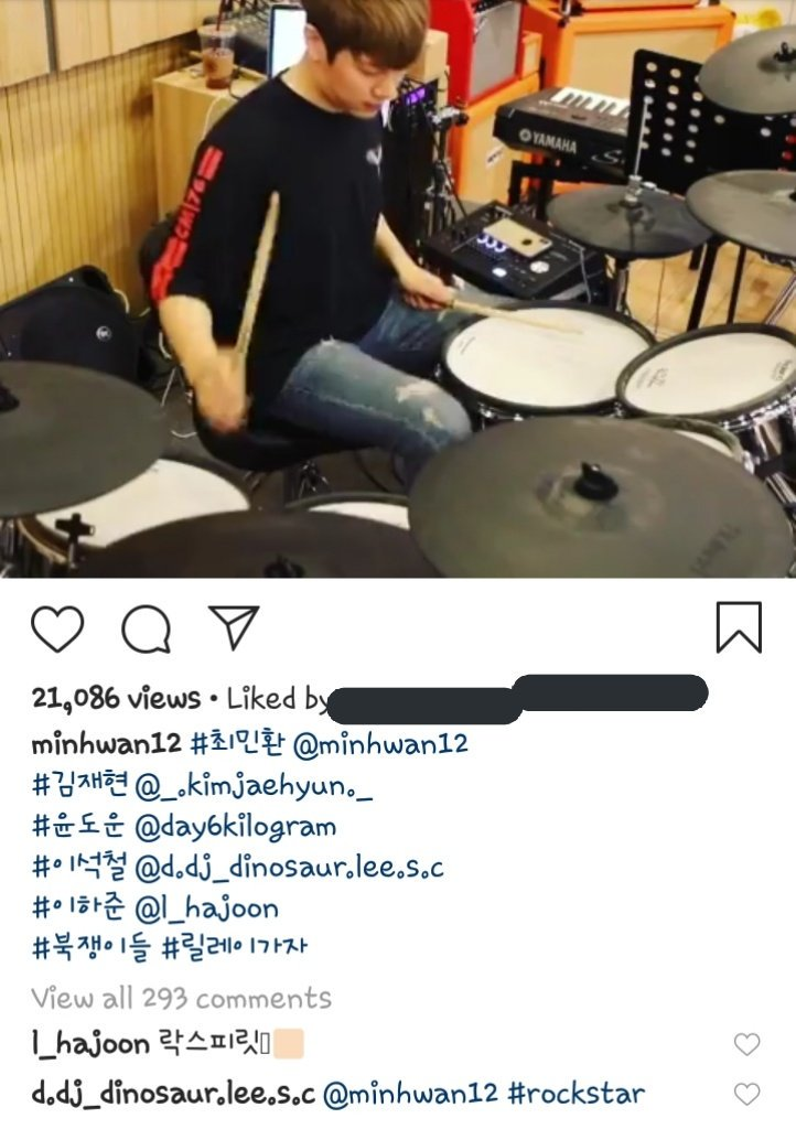 Drummers: Minhwan (ftisland) Jaehyun (nflying) Dowoon (day6) Seokcheol (was the eastlight) Hajoon (the rose)  They said relay??? <br>http://pic.twitter.com/ctV7JqNdcP