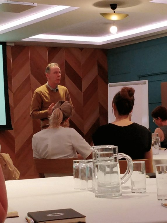 Professor Alan Brown dropping some #DTMasterclass knowledge bombs
