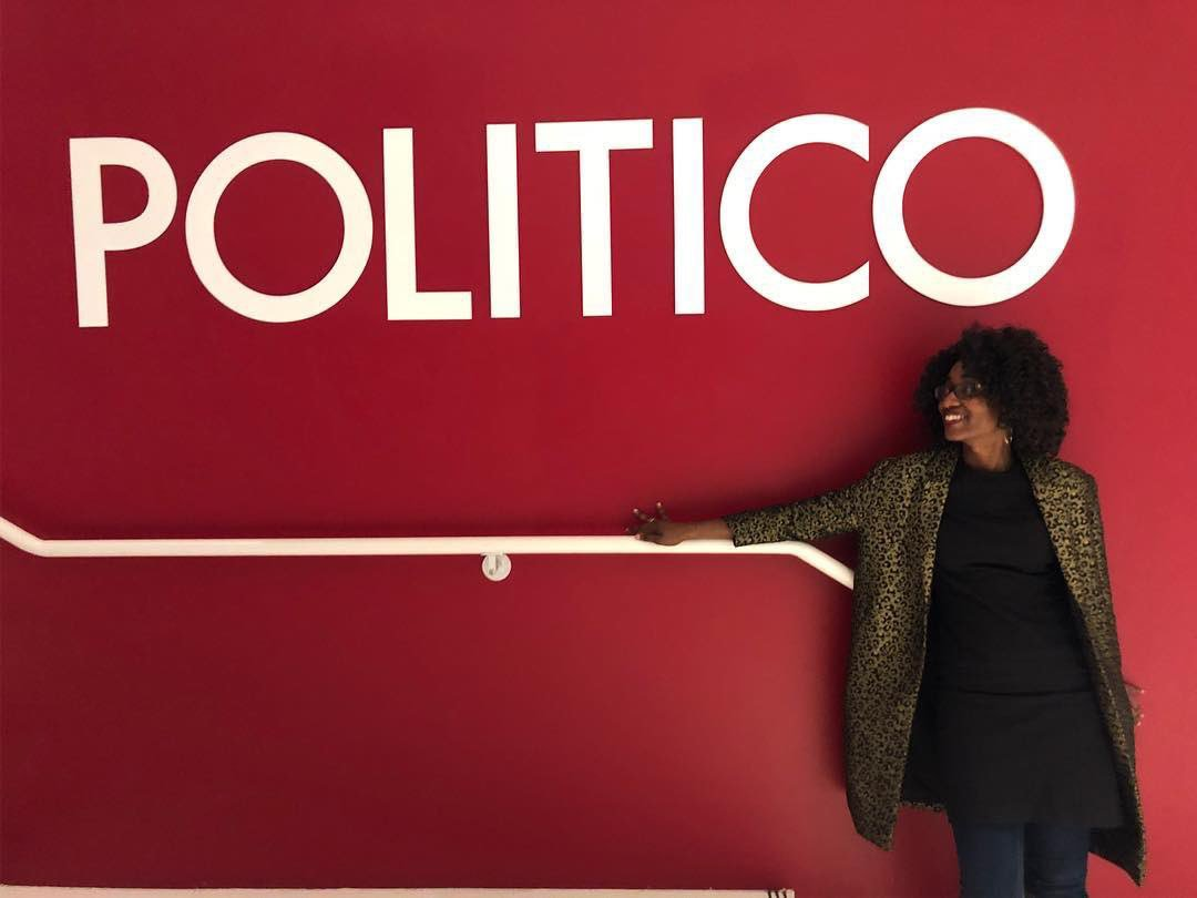 Today is my one-year anniversary at Politico. Wow! It's been a rewarding year. <br>http://pic.twitter.com/vIJNqdGVuZ