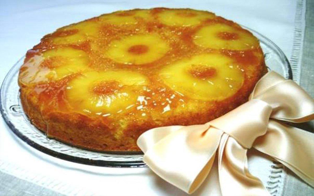 Torta di Ananas #ananas #dolci #dolcibrasiliani #dolcibuoni #dolciricette #ricettabrasiliana #ricettebrasiliane #Torta #tortadiananas https://www.ricettebrasiliane.it/Ricette/torta-di-ananas/…