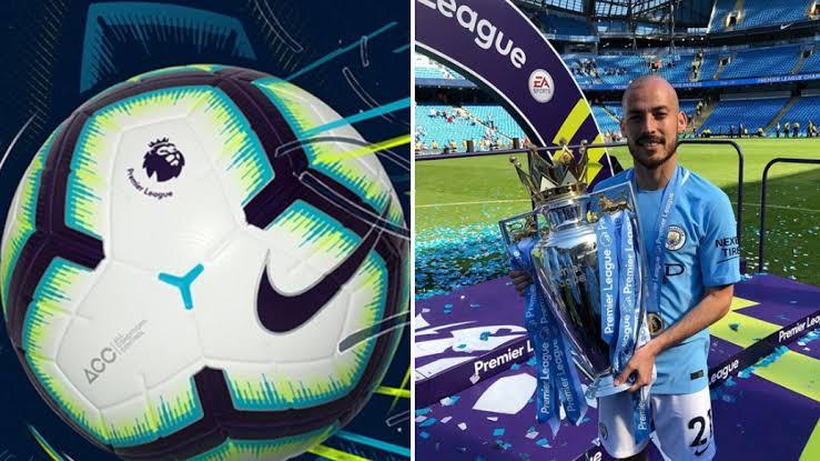 Congrats on your new football #merlin will score with #merlin ##davidsilva #debruyne