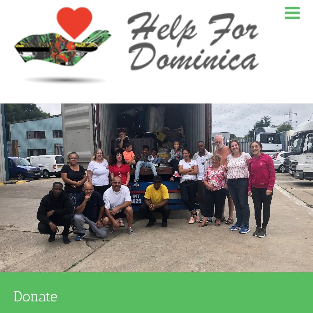 Exciting news! Our next 40ft container is loading from #Margate 29th July please contact us if you can help on the day. #Donations towards shippingno matter how small are appreciated as costs are high please RT & donate at https://www.helpfordominica.co.uk/donate/ thanks #CharityTuesday #charity