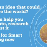 Image for the Tweet beginning: The current round of #InnovateUKSmart
