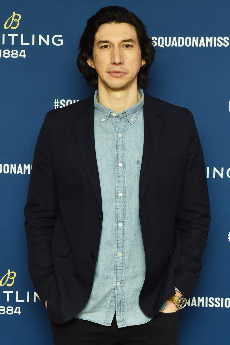 Adam Driver hosts the Breitling/Norton Motorcycles launch event in New York