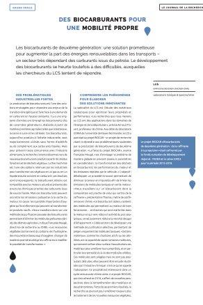 🆕Un article consacré aux #biocarburants développés au @labo_lcs au travers du projet #BIOCAR dans le dernier #Prisme, le magazine de la recherche de @Universite_Caen @normandieuniv  ▶️https://t.co/Q1LDtdy8RQ @ENSICAEN @CNRS @LabExEMC3 @CNRS_Normandie @INC_CNRS @Reseau_Carnot