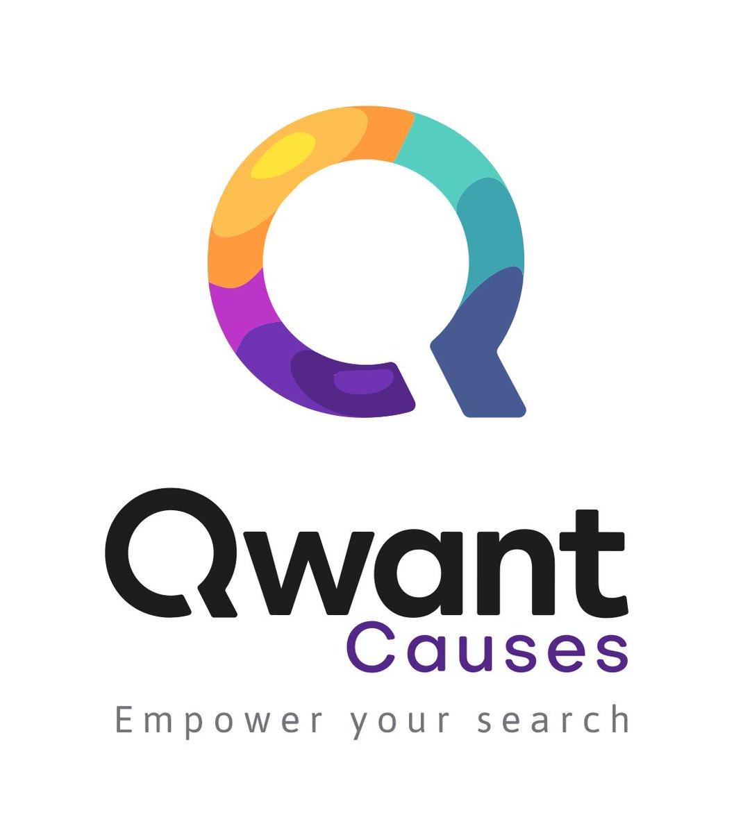 Qwant a développé #QwantCauses, le moteur de l'engagement citoyen avec le premier et le plus complet index des associations en France. En passant en mode #donations vous cumulez des Qoz que vous redistribuez à l'asso de votre choix et toujours #privacy https://www.qwant.com/causes/