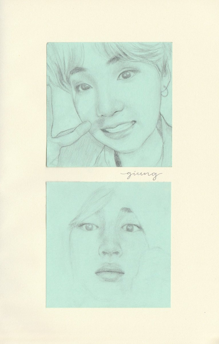 broke: drawing on an actual sketchbook woke: drawing on post-it notes #btsfanart <br>http://pic.twitter.com/dLJ38yCSSw