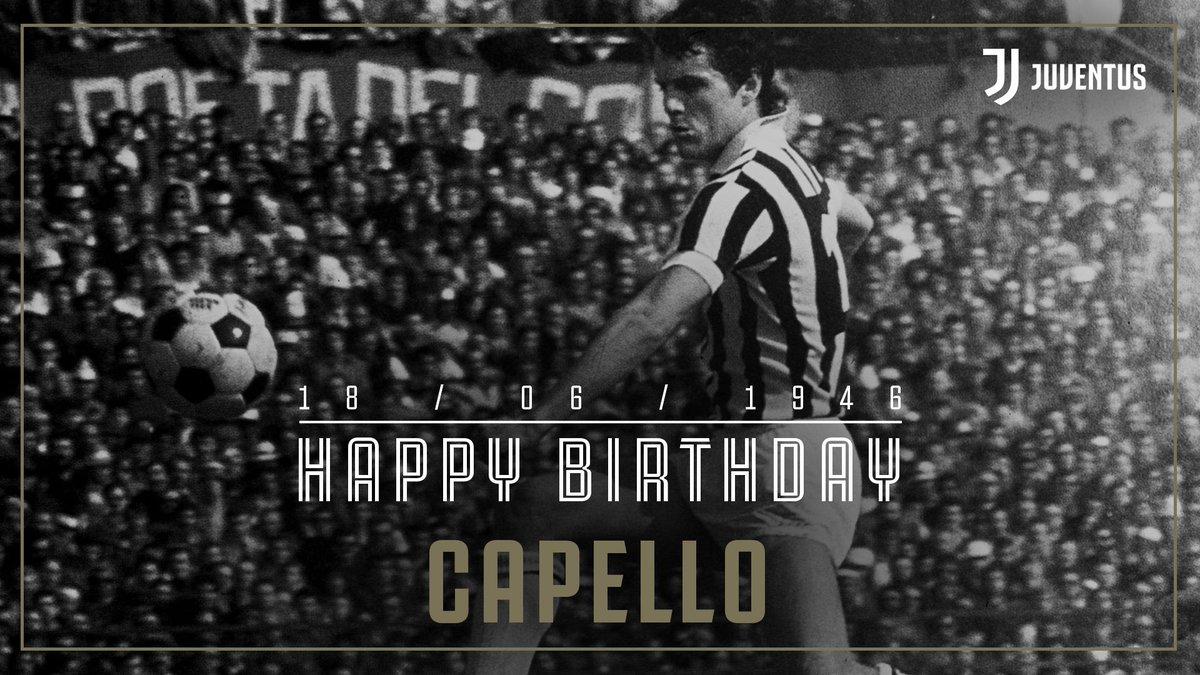 Tanti auguri a Fabio #Capello! 🎂