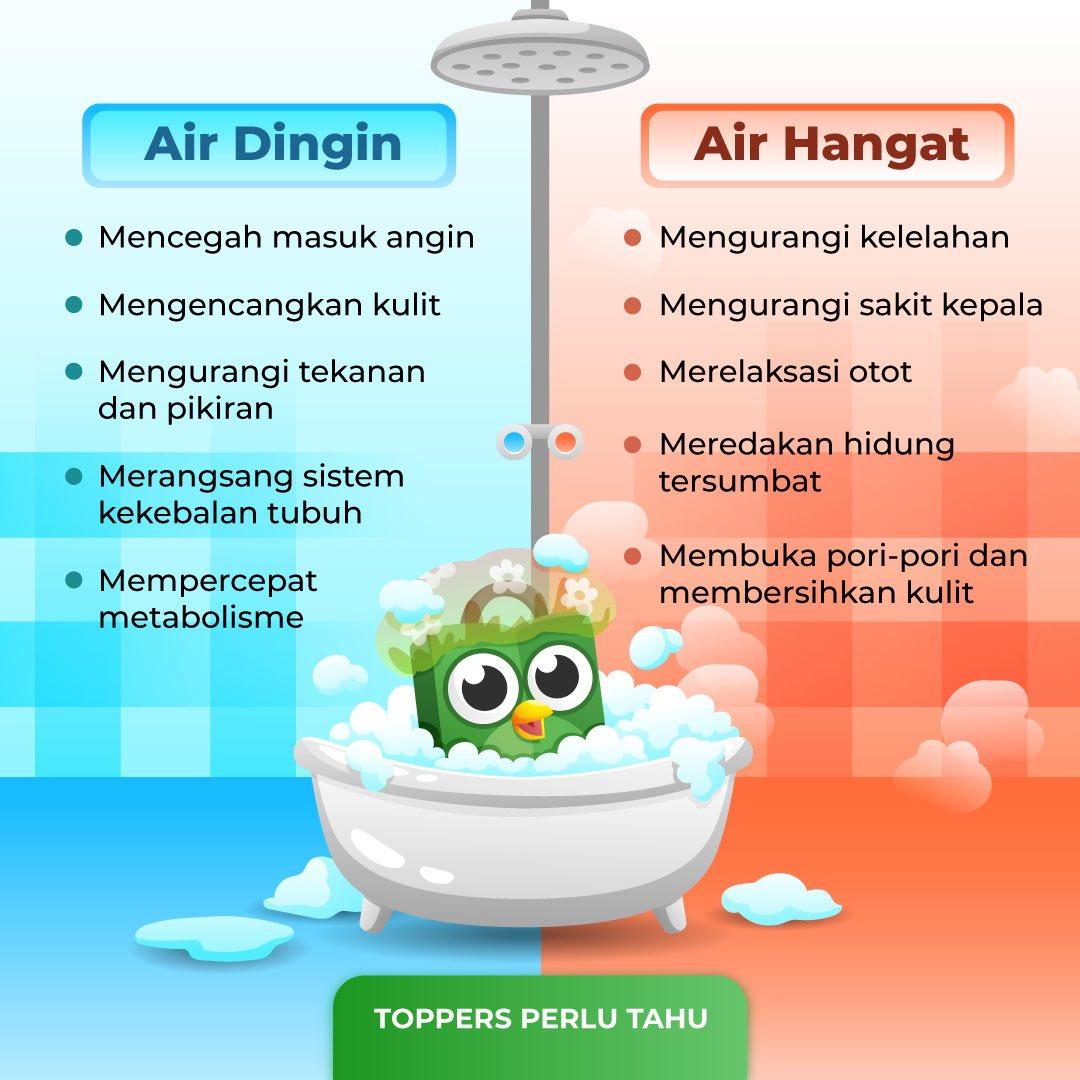 Tokopedia No Twitter Air Dingin Hangat Memiliki Manfaat Kesehatan Untuk Meningkatkan Sirkulasi Ke Seluruh Tubuh Nah Coba Simak Lebih Lengkap Manfaatnya Pada Gambar Kamu Juga Bisa Mandi Air Hangat Setiap Hari