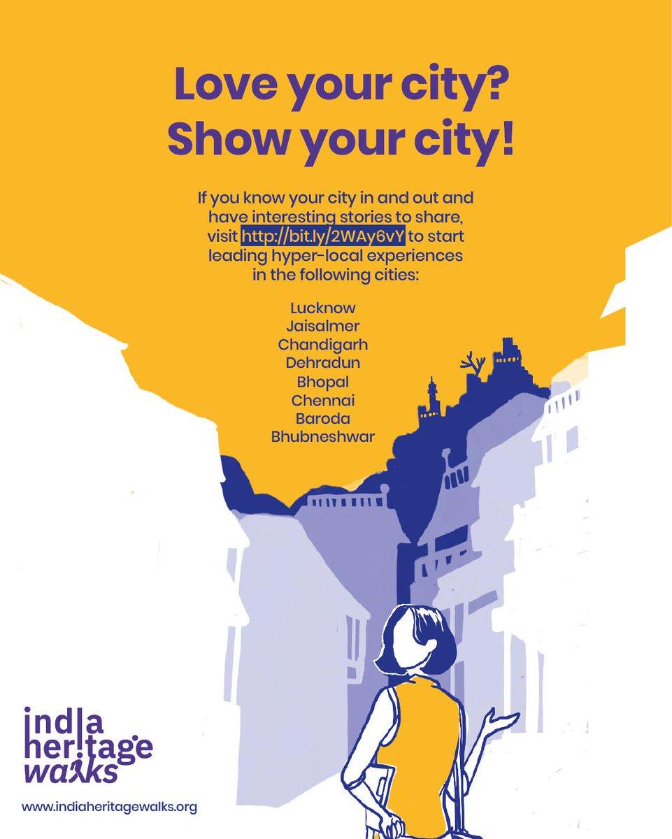 India Heritage Walks (@Sahawalks) | تويتر