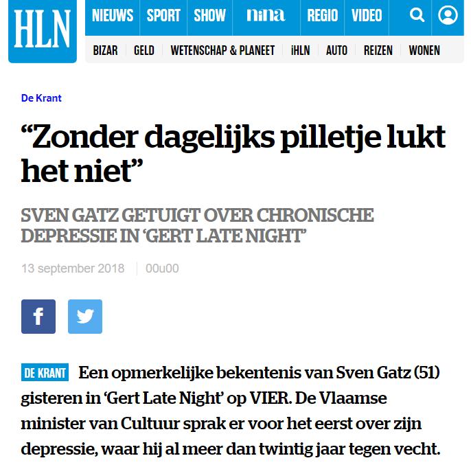 #Flandre -- Bientôt Sven baron Gatz?  #youthforclimate #begov https://t.co/etnEIEGFW0