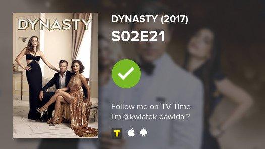 I've just watched episode S02E21 of Dynasty (2017)! #dynasty  #tvtime https://tvtime.com/r/14C1m