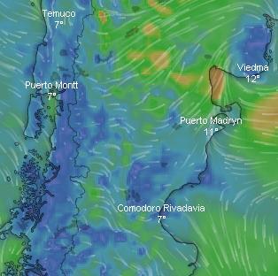 #Lluvias #Chubut  #Madryn 36 mm 7 evacuados, calles anegadas #Dolavon se habla por encima de los 35 mm #Trelew 20 mm sin evacuados, asistidos con nylon.  La clave estará en el dato que brinde informe en #bocaToma  para saber si se complicará la potabilización de agua. #Chubut