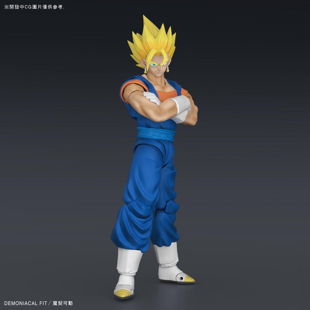 Demoniacal Fit Dragon Ball Z DBZ Custom headsculpt set per SHF Gugeta Anime