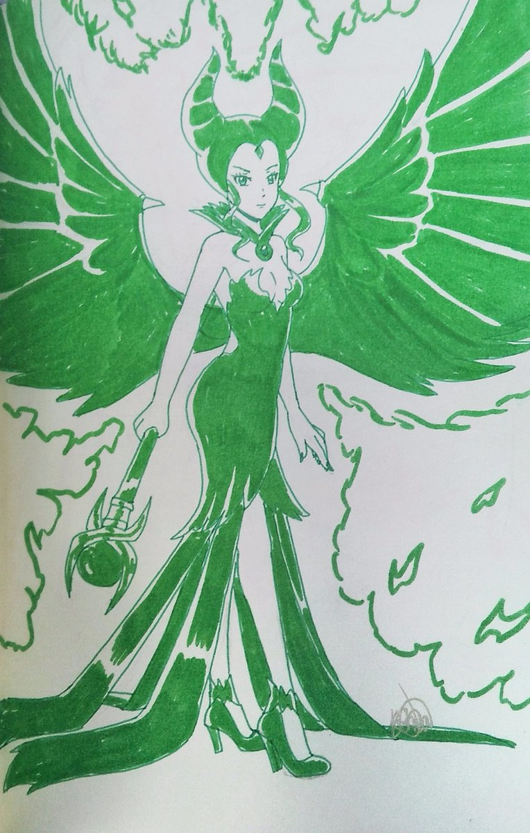 Day 30 Disney Majestic Maleficent Art Traditionalart