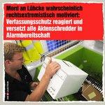 Image for the Tweet beginning: Soll keiner sagen, der Verfassungsschutz