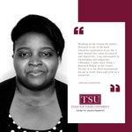 Image for the Tweet beginning: Meet Melissa Kwende, a graduate