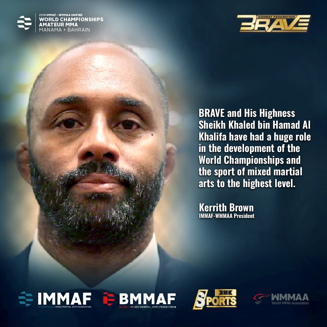 The goal has always been developing and revolutionizing the sport of Mixed Martial Arts and the changes have been noticed by the MMA world. #BRAVECF #KHKSports #BRAVEICW2019 #Bahrain