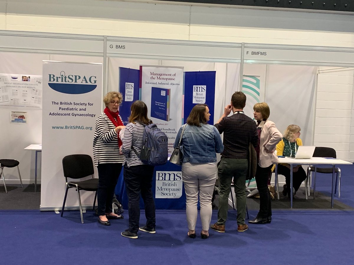 British Menopause Society stand at RCOG World Congress. Please visit our stand if any queries regarding the society or regarding info to help women and clinicians