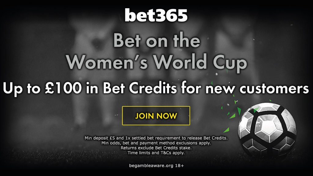 Up to £100 in Bet Credits for new customers at bet365  https